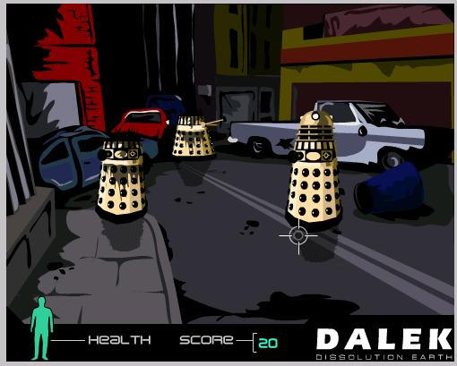 Dalek: Dissolution Earth